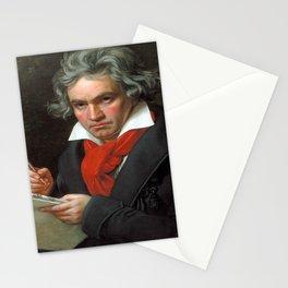 Joseph Karl Stieler - Portrait of Beethoven Stationery Cards