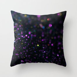 Abstract Purple Wallpaper Throw Pillow
