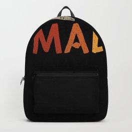 Malaka Shirt Greek Shirts Backpack