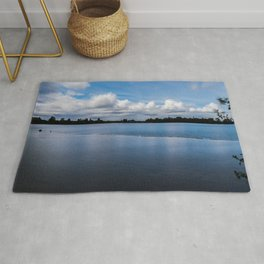 One dredging lake in Germany Rug