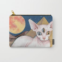 Sphinx Cat Carry-All Pouch