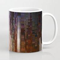 metropolis Mugs featuring Metropolis by Angelo Cerantola