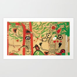 Tree Ashe Art Print