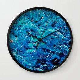 Frozen Ocean Wall Clock