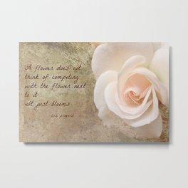 Zen Proverb 4 Metal Print