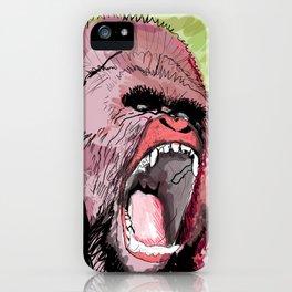 The gorilla  iPhone Case