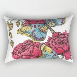 Color Flutter II Rectangular Pillow