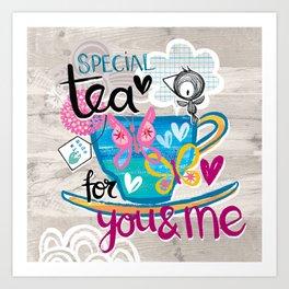 Special Tea Art Print