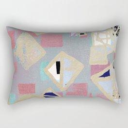 Art deco, geo art, diamonds Rectangular Pillow