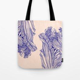 Dark tulip Tote Bag