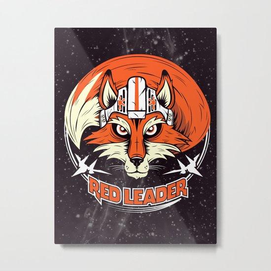 Red Leader Metal Print