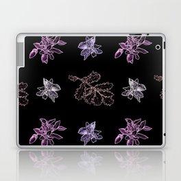 Quercus (black, purple) Laptop & iPad Skin