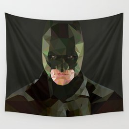 Ominous stance Wall Tapestry