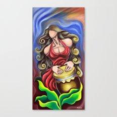 Cuban Rumbera Canvas Print