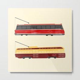 Streetcars Metal Print