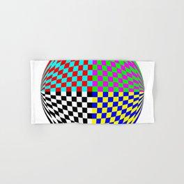 Checker Planet 60gon Hand & Bath Towel