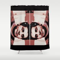 spaceman Shower Curtains featuring Spaceman by ACUN