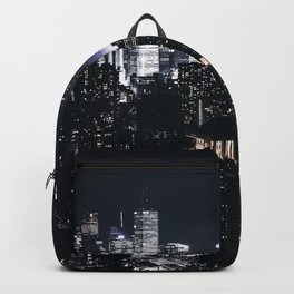 The Dark City of Lights (Color) Backpack