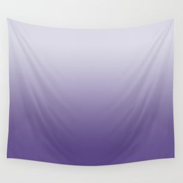 Ombré Ultra Violet Gradient Motif Wall Tapestry