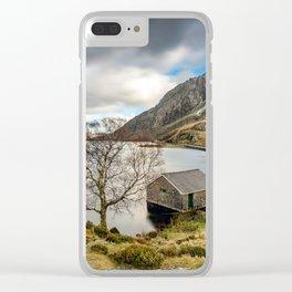 Lake Ogwen Snowdonia Clear iPhone Case