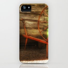 Yarnwork at the Mabry Mill iPhone Case