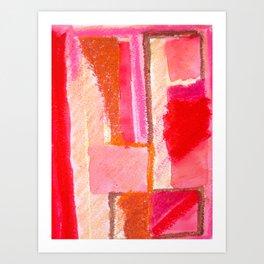 Redden Art Print