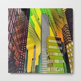 city art -c- Metal Print