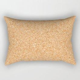 Cork board Rectangular Pillow