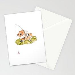 Jeremy Fisher fishing Peter Rabbit  Beatrix Potter Stationery Cards
