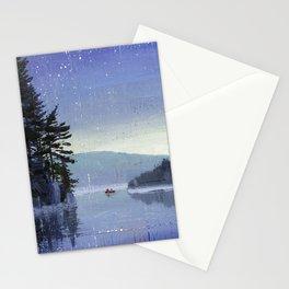 rocky cliff Stationery Cards