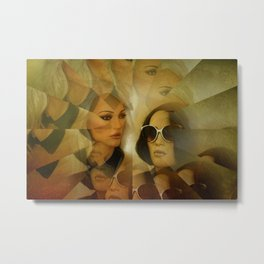 illusion -106- Metal Print