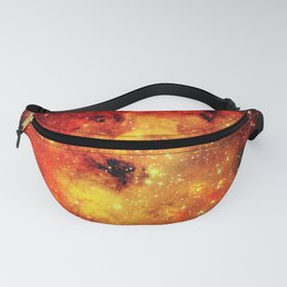Galaxy On Fire Fanny Pack