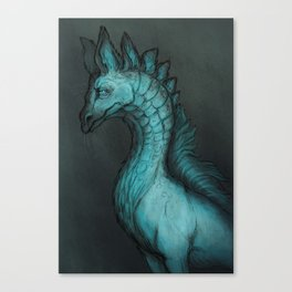 Serious Canvas Print