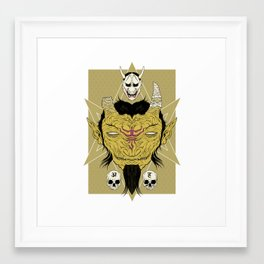 Tatarigami Framed Art Print