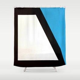 Original Modern Geometric Design Shower Curtain