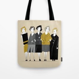 Meet the Bright Young Sisters Tote Bag