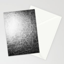 Orbital Cubes Stationery Cards