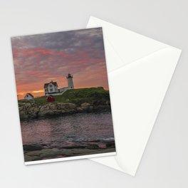 Nubble Lighthouse 1 Stationery Cards