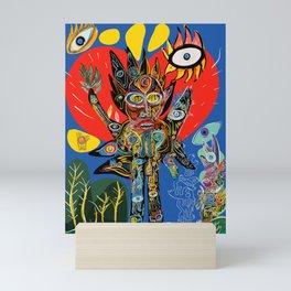 Spirit of Nature is talking to us  Mini Art Print
