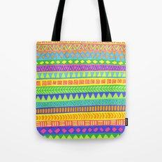 Happy colors inka pattern Tote Bag