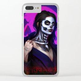 Trick Clear iPhone Case