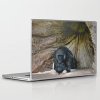 gorilla Laptop & iPad Skins featuring Gorilla by Retro Love Photography