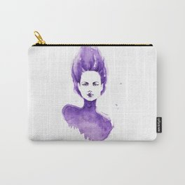 Purple Water Faery Carry-All Pouch