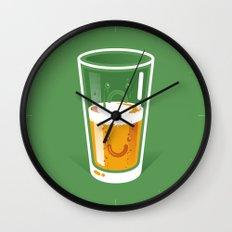 Pessimistic Optimist Wall Clock