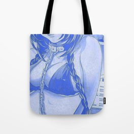 Sexy anime aesthetic - let's play a game Tote Bag