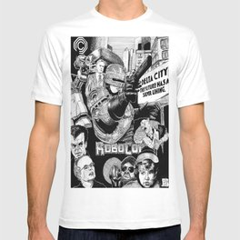 'Robocop 1987' Retro Style Movie Poster T-shirt