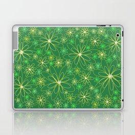 Green and Gold Laptop & iPad Skin
