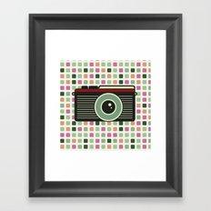 Retro Camera Framed Art Print