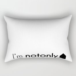 I'm notonlyARCH Rectangular Pillow