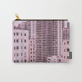 Hong Kong Pink City Carry-All Pouch